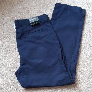 NWT Men's Banana Republic Factory navy blue pants